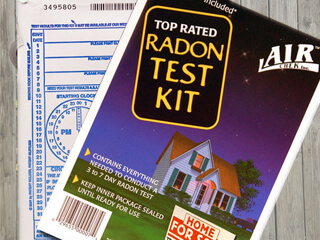radon tests kit